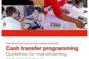 Cash transfer programming: Guidelines for mainstreaming and preparedness
