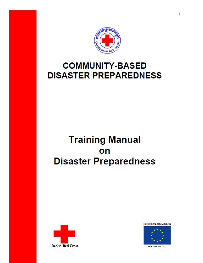 Community Based Disaster Preparedness (CBDP) Training Manual