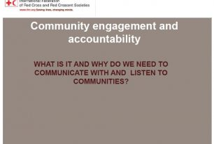 Community Engagement and Accountability : A Powerpoint presentation