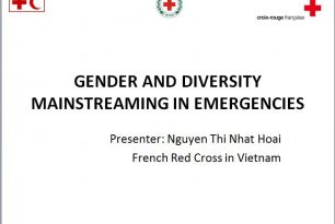 Gender and Diversity mainstreaming – Powerpoint presentation for Mainstreaming Gender and Diversity in Emergency Training VNRC