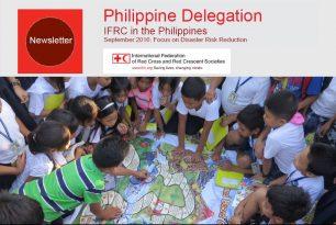 IFRC Philippine Delegation Newsletter Sep 2016