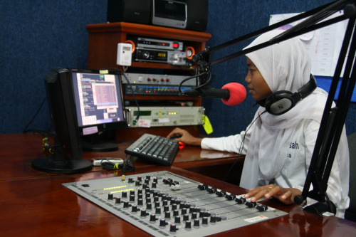 Using radio as an effective information education and communication media, Aceh, PMI