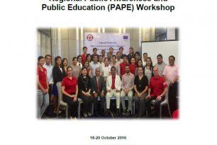 Regional Public Awareness and Public Education (PAPE) Workshop Report