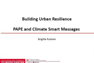 PAPE and Climate Smart Messages