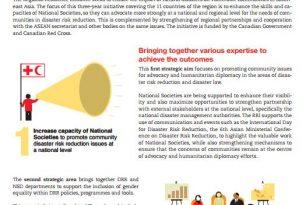 Regional Resilience Initiative – Snapshot