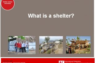 What is a shelter?