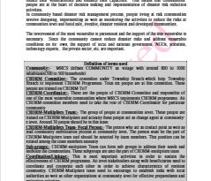 CBDRM Implementation Guideline