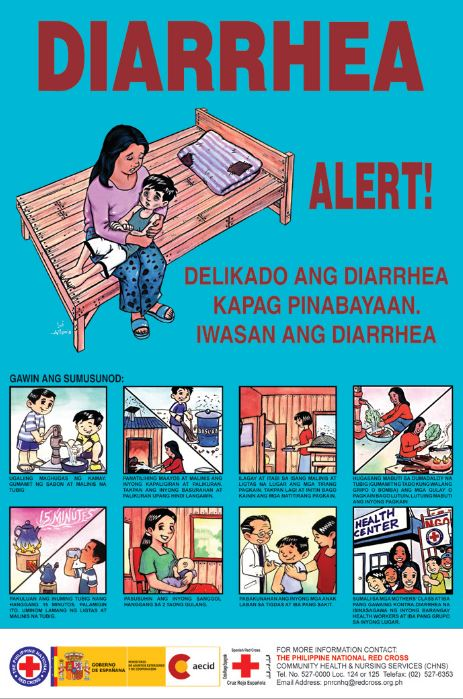 Diarrhea Alert Filipino Resilience Library