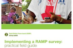RAMP Toolkit 2 – Implementing a RAMP survey: practical field guide