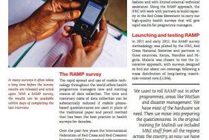 Summary – Rapid Mobile Phone-based (RAMP) survey: An innovation for health surveys
