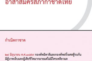 คู่มือสำหรับอาสาสมัครสภากาชาดไทย Handbook for Thai Red Cross Society's Volunteers