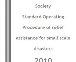 Myanmar Red Cross Society Standard Operating Procedure of relief assistance for small scale disasters