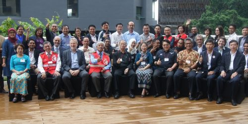 Group Photo: South-East Asia Community Safety and Resilience Forum 2017