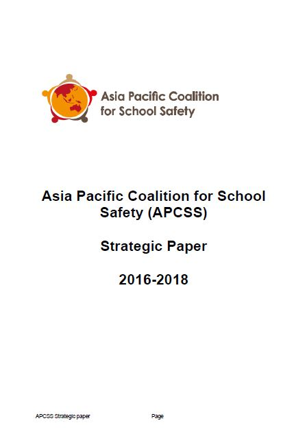 APCSS Strategic paper