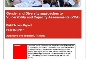Gender and Diversity approaches to Vulnerability and Capacity Assessments (VCA) Field School Report
