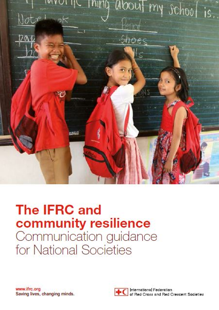 IFRC and community resilience_Communication guidance for National Societies