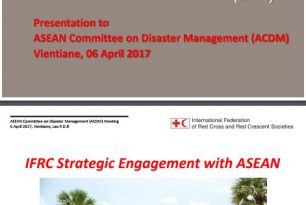 IFRC Strategic Engagement with ASEAN (2017)