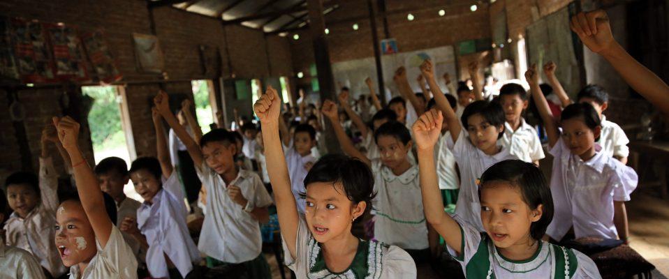 School safety in Myanmar, credit by Felix La Framboise