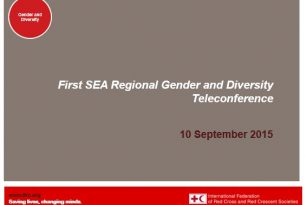 Southeast Asia Gender and Diversity Teleconference Powerpoint Presentation
