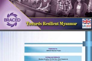 BRACED Myanmar Results Report 2016/2017
