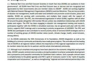 IFRC engagement strategy with ASEAN