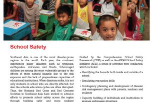 Case Study: Building Urban Resilience in Southeast Asia – School Safety