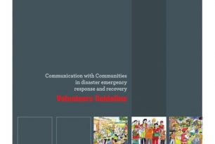 Communication with Communities in disaster emergency response and recovery: Volunteers Guideline