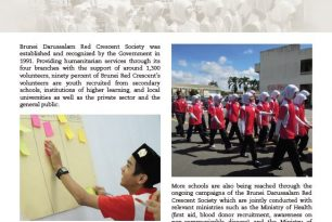 Brunei Red Crescent Society working towards school safety