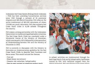Indonesian Red Cross Society: Working towards school safety