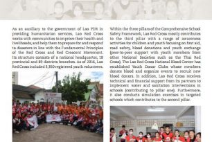 Lao Red Cross Society working towards school safety