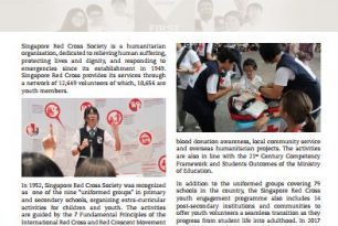 Singapore Red Cross Society working towards school safety