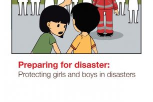 Comic Preparing for disaster: Protecting girls and boys in disasters