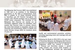 Malaysian Red Crescent working towards school safety