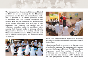 Malaysian Red Crescent: working towards school safety