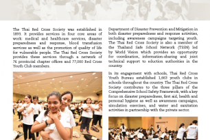 Thai Red Cross Society: working towards school safety