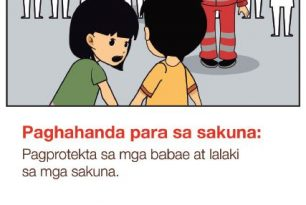 Preparing for disaster: Protecting girls and boys in disasters [Tagalog]