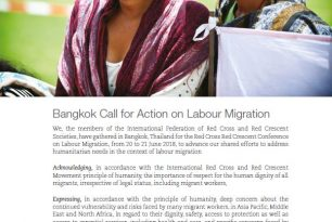 Bangkok Call for Action on Labour Migration