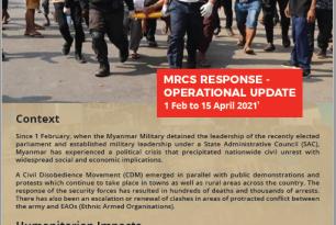 MRCS Operational Update April 2021