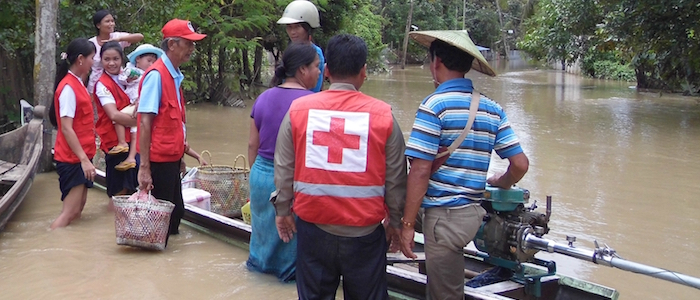 Emergency Response Teams from the Myanmar Red Cross have been evacuating families and providing  relief and medical assistance to communities affected by severe monsoon floods and landslides which have displaced thousands of families from their homes.   Kachin, Myanmar