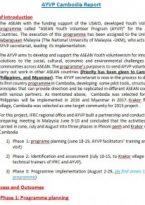 AYVP Cambodia Report
