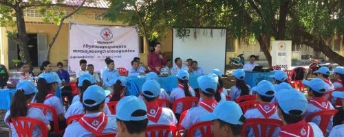 International Day for Disaster Reduction October 2015_Cambodian Red Cross_Kamphong Cham school students