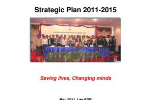 Lao Red Cross Strategic Plan 2011 -2015