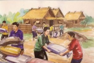 Booklet on Floods in Laotian