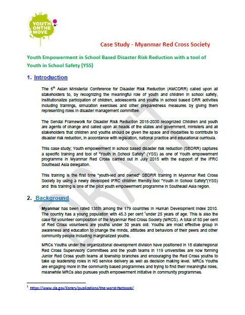 case study hr after a disaster Shelter after disaster: facts and figures  they are based on case studies,  practitioners' testimonials and the authors' own expertise with.