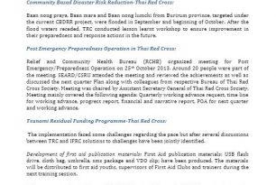 Oct 2013 – CSRU Monthly Updates