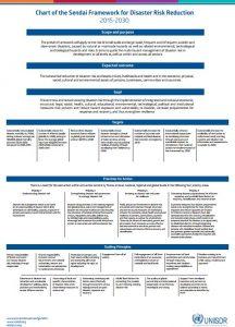 Sendai Framework Chart