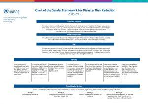 Sendai Framework simplified chart