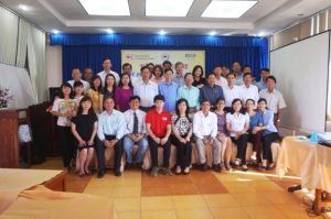 Community Health Preparedness for Zika and Dengue Training participants group photo