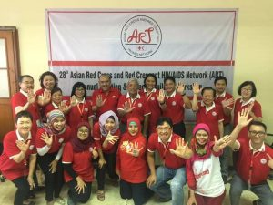 Group Photo of 28th Asian Red Cross and Red Crescent HIV/AIDS Network in Jakarta 2016.Group Photo of 28th Asian Red Cross and Red Crescent HIV/AIDS Network in Jakarta 2016.
