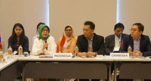 Key government officials from ASEAN Member States made statement to reaffirm their commitment to school safety initiative.